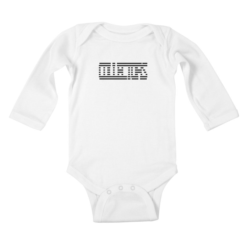 ODC - COLLECTORS Kids Baby Longsleeve Bodysuit by HUNDRED