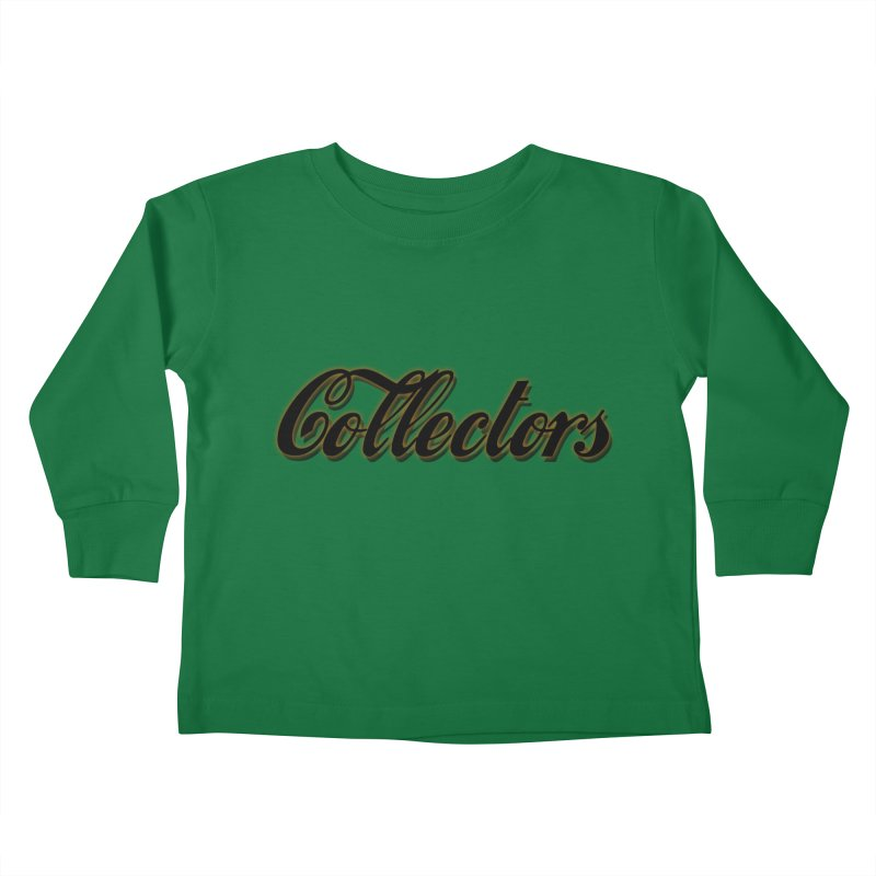 ODC cOKE cOLLECTORS Kids Toddler Longsleeve T-Shirt by HUNDRED
