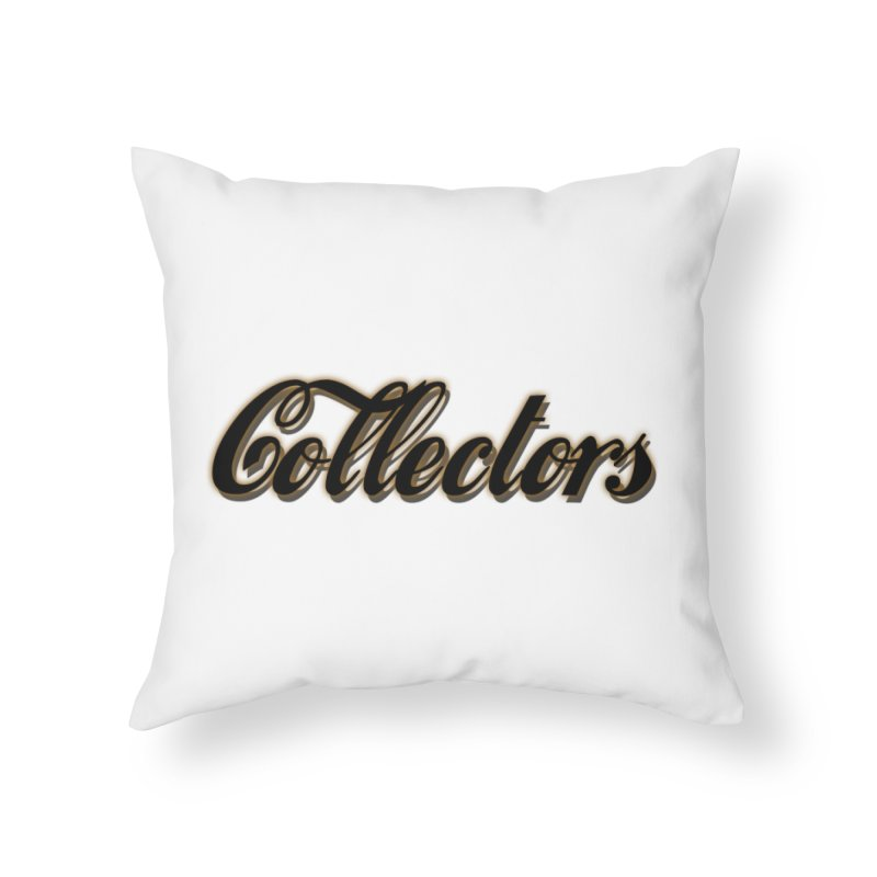 ODC cOKE cOLLECTORS Home Throw Pillow by HUNDRED