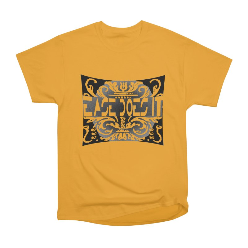 Ease Does It Men's Heavyweight T-Shirt by HUNDRED
