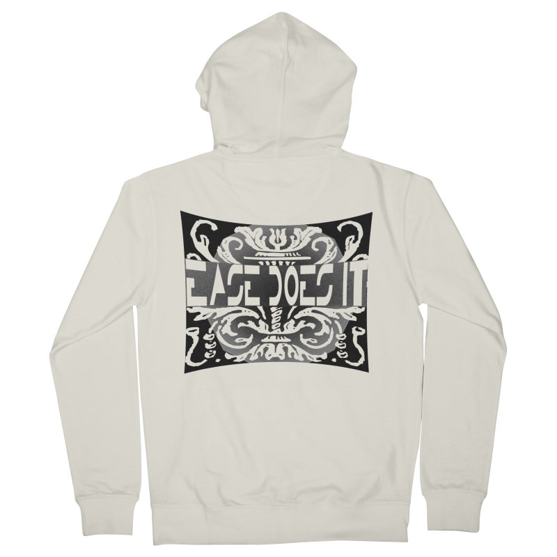 Ease Does It Men's French Terry Zip-Up Hoody by HUNDRED