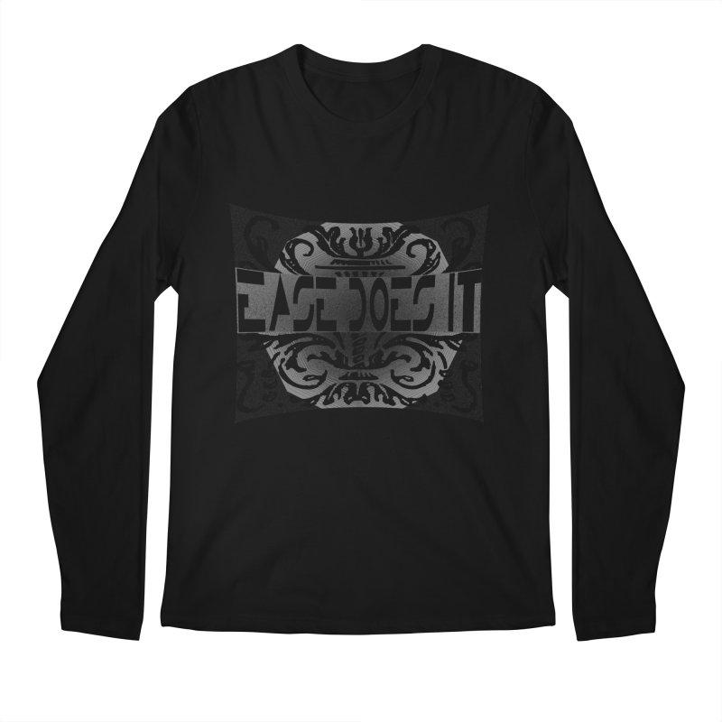 Ease Does It Men's Regular Longsleeve T-Shirt by HUNDRED