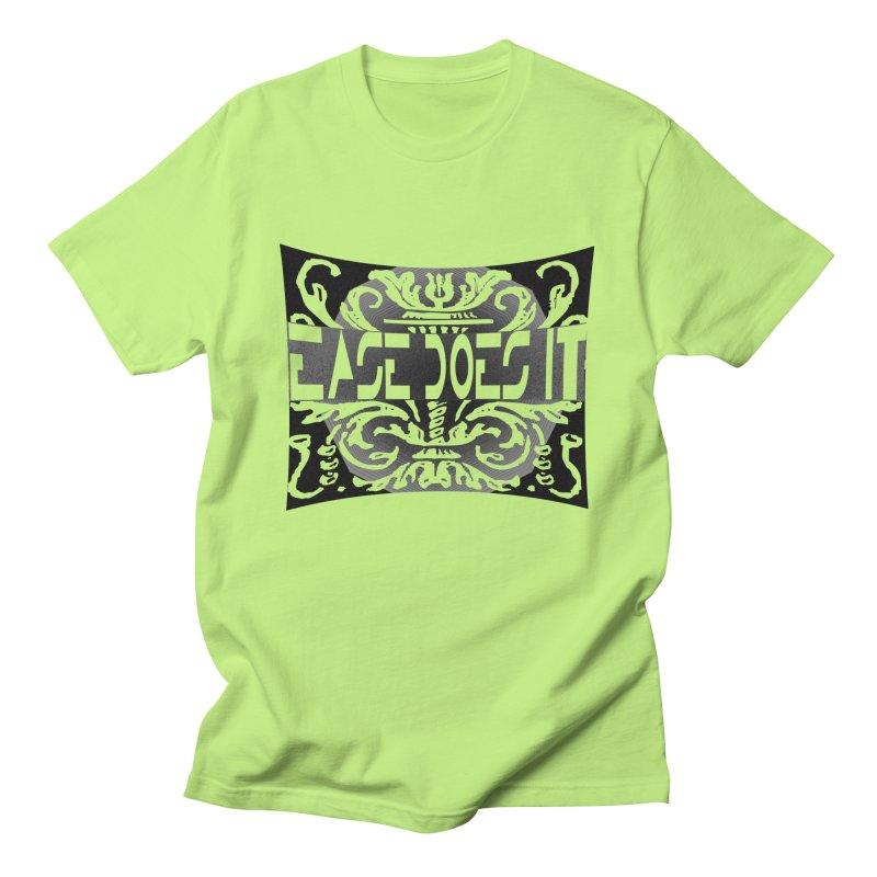 Ease Does It Men's Regular T-Shirt by HUNDRED