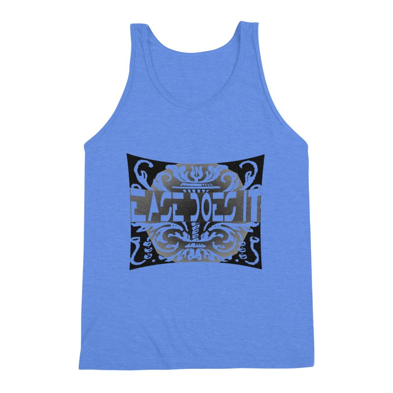 Ease Does It Men's Triblend Tank by HUNDRED