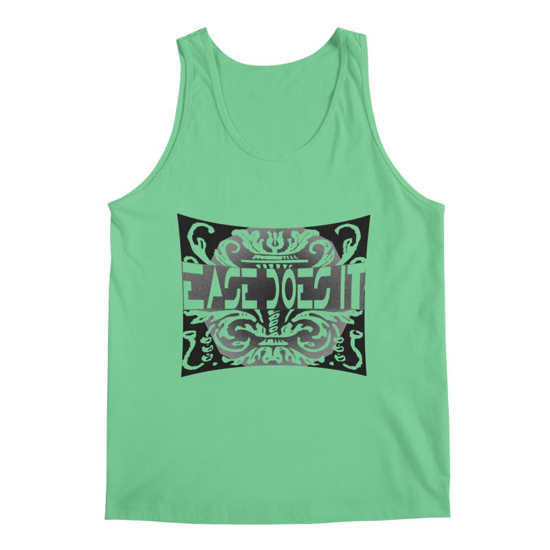 Ease Does It Men's Regular Tank by HUNDRED