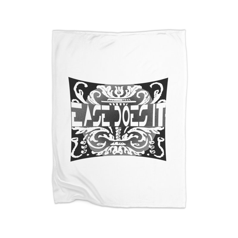 Ease Does It Home Fleece Blanket Blanket by HUNDRED