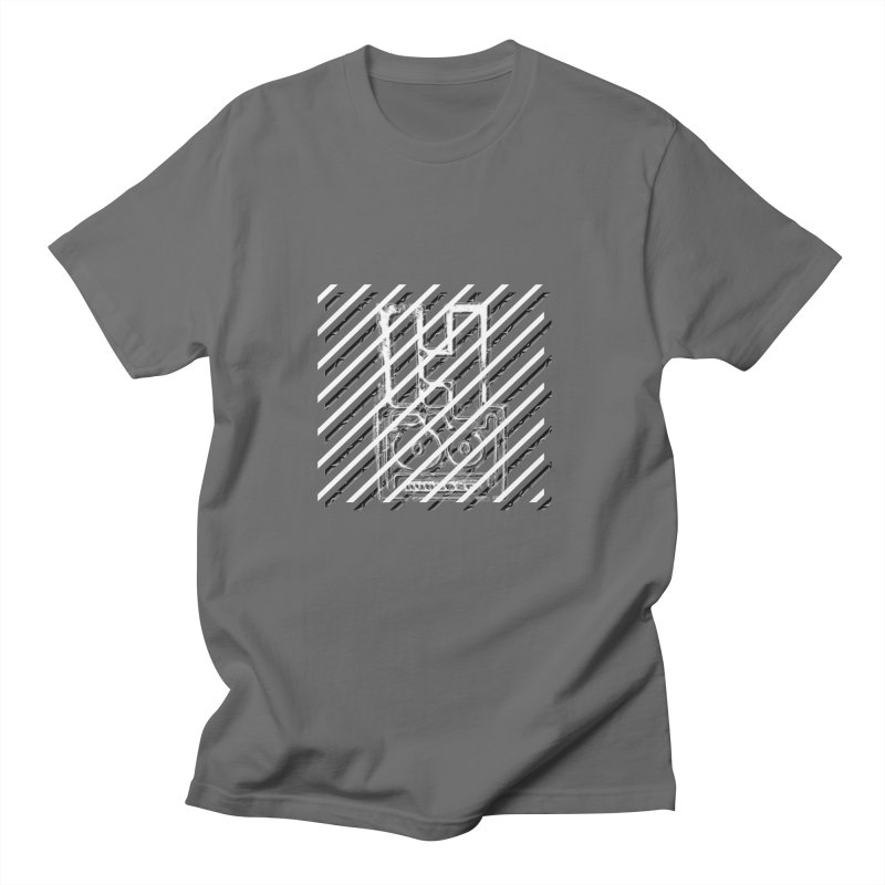 Hundred Between The Lines Men's T-Shirt by HUNDRED