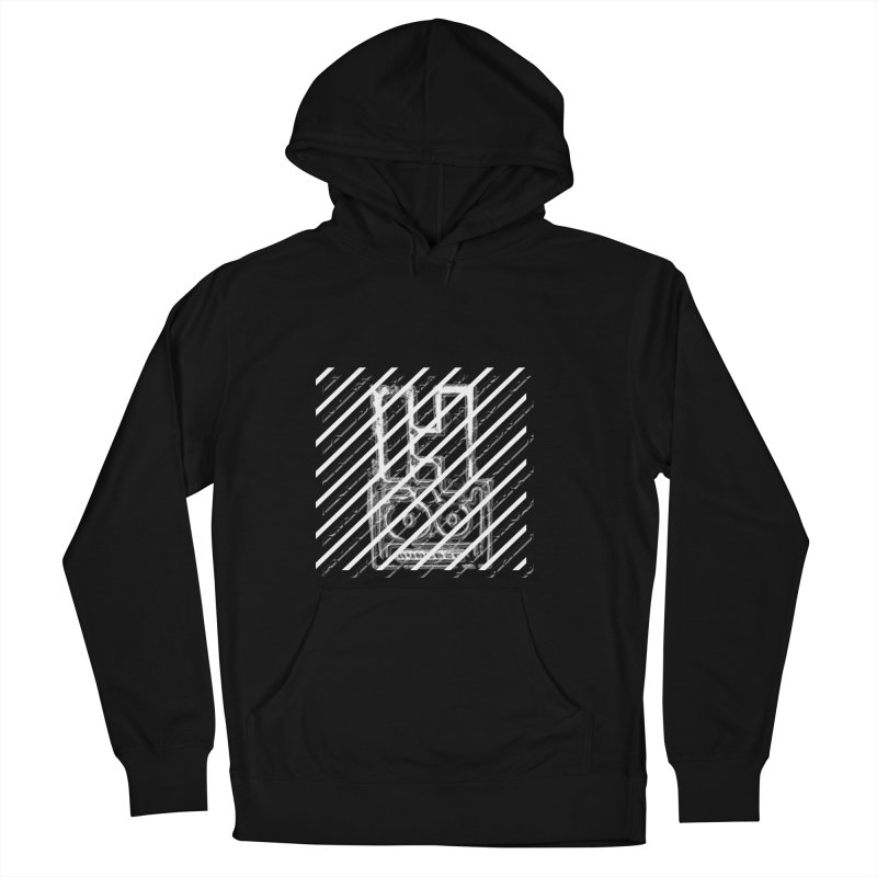 Hundred Between The Lines Men's French Terry Pullover Hoody by HUNDRED