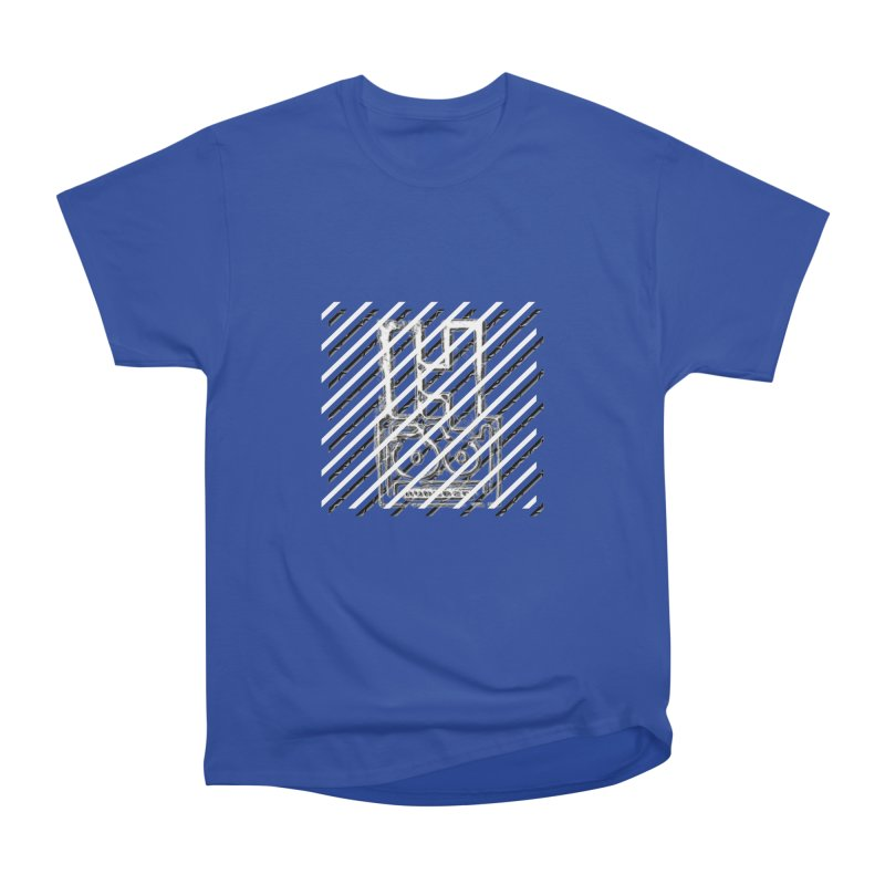 Hundred Between The Lines Men's Heavyweight T-Shirt by HUNDRED