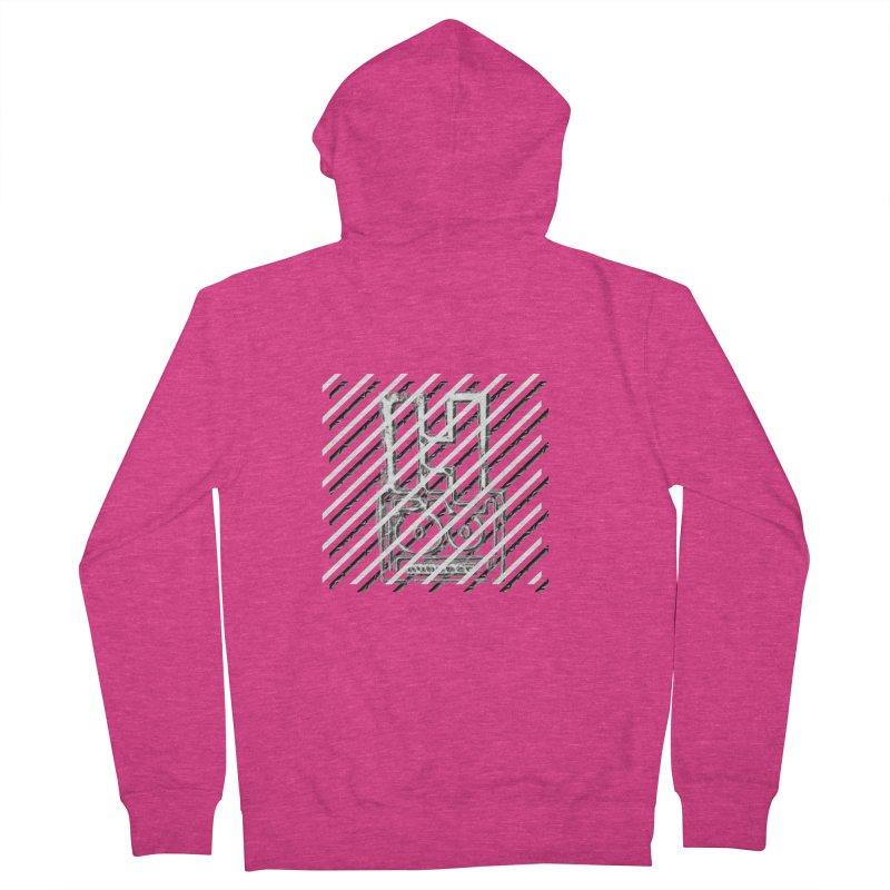 Hundred Between The Lines Women's French Terry Zip-Up Hoody by HUNDRED