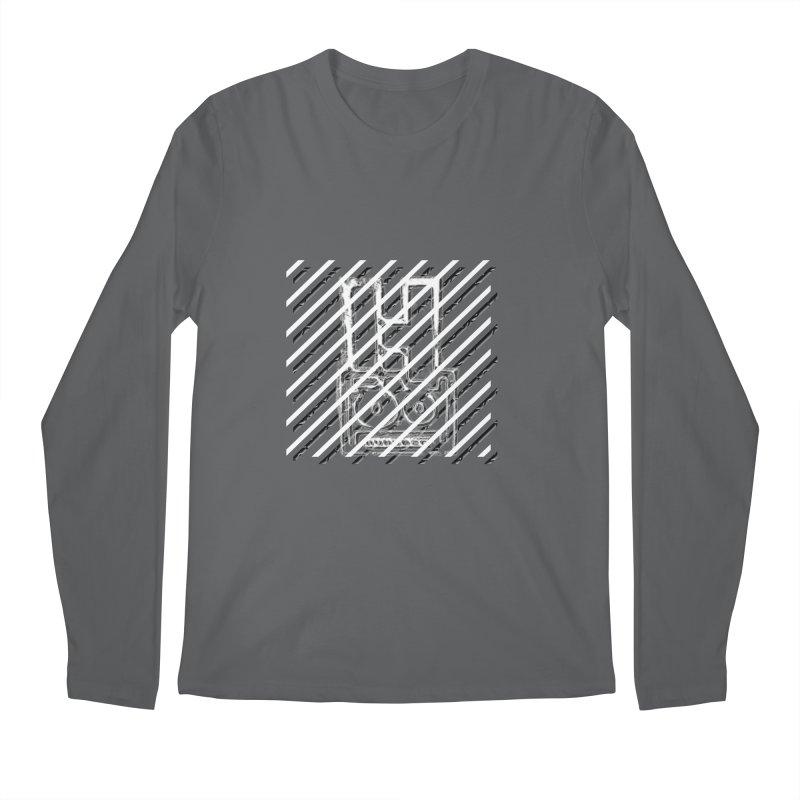 Hundred Between The Lines Men's Regular Longsleeve T-Shirt by HUNDRED