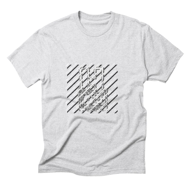 Hundred Between The Lines Men's Triblend T-Shirt by HUNDRED