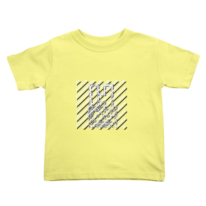 Hundred Between The Lines Kids Toddler T-Shirt by HUNDRED