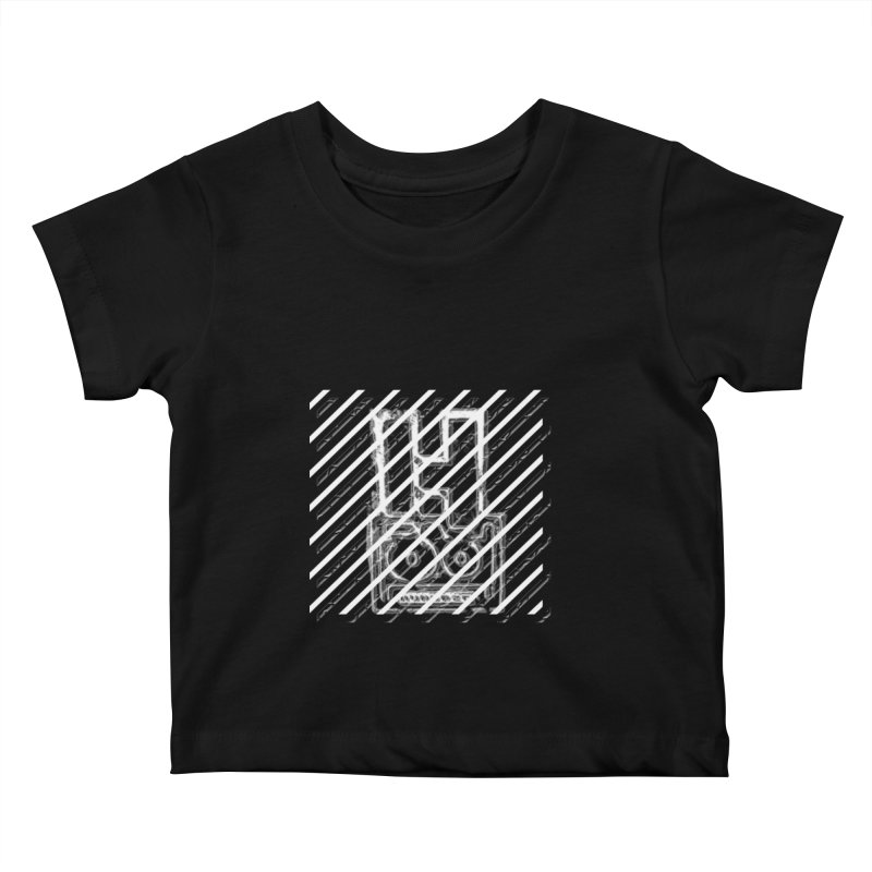 Hundred Between The Lines Kids Baby T-Shirt by HUNDRED
