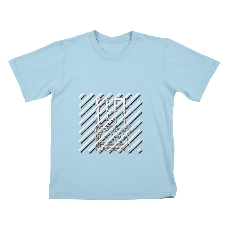Hundred Between The Lines Kids T-Shirt by HUNDRED