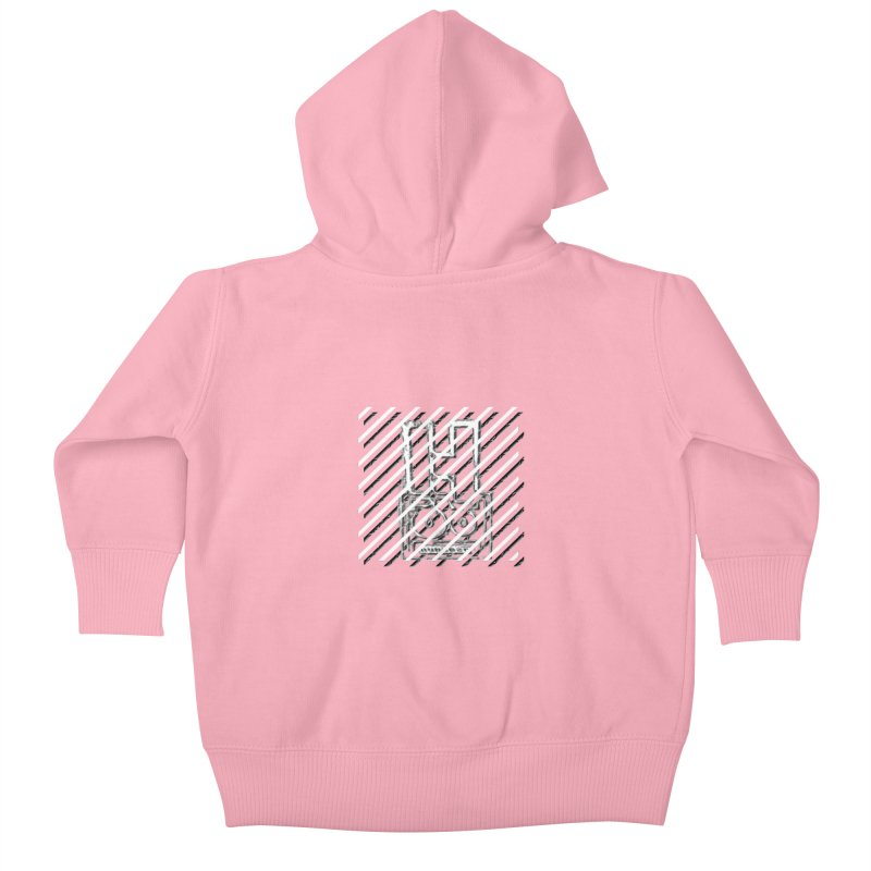Hundred Between The Lines Kids Baby Zip-Up Hoody by HUNDRED