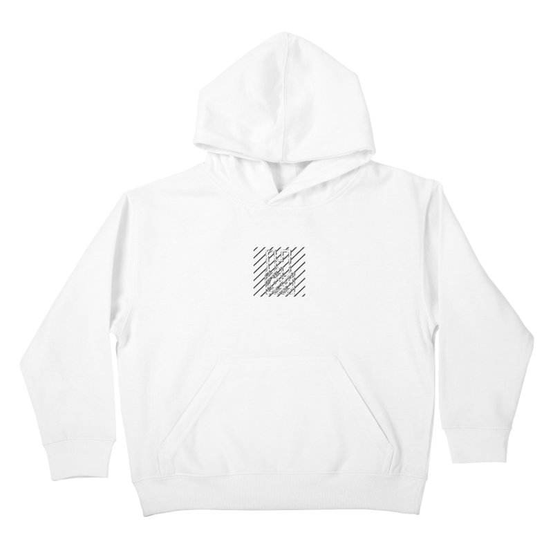 Hundred Between The Lines Kids Pullover Hoody by HUNDRED