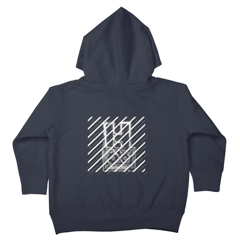 Hundred Between The Lines Kids Toddler Zip-Up Hoody by HUNDRED