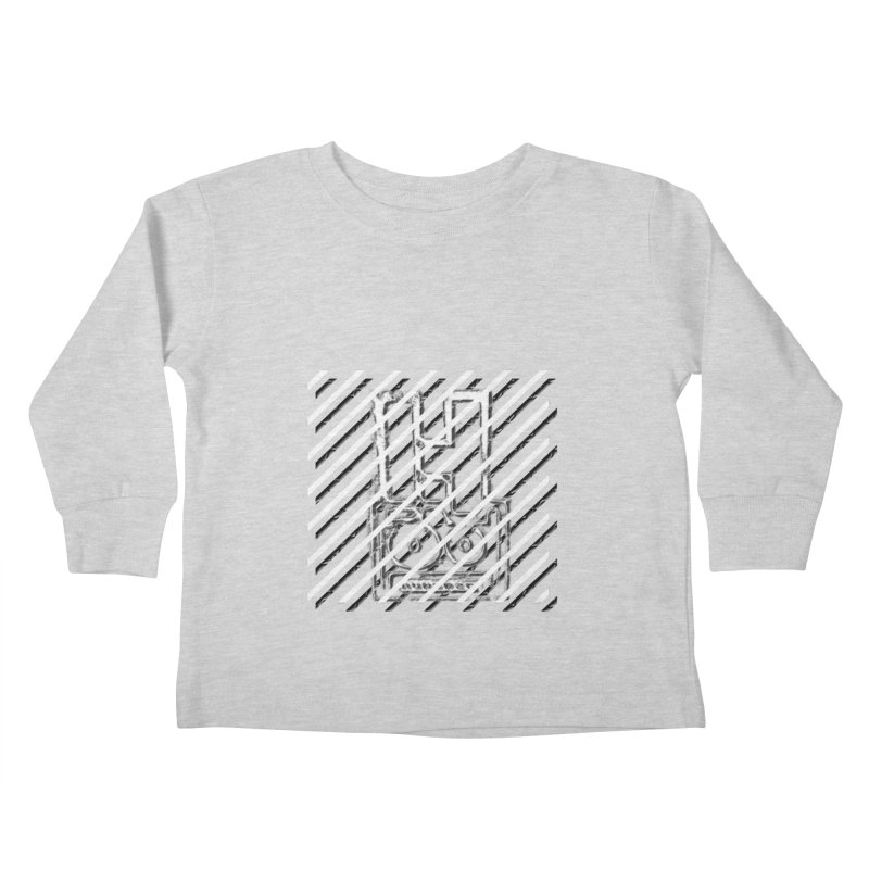 Hundred Between The Lines Kids Toddler Longsleeve T-Shirt by HUNDRED