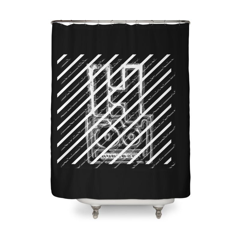 Hundred Between The Lines Home Shower Curtain by HUNDRED