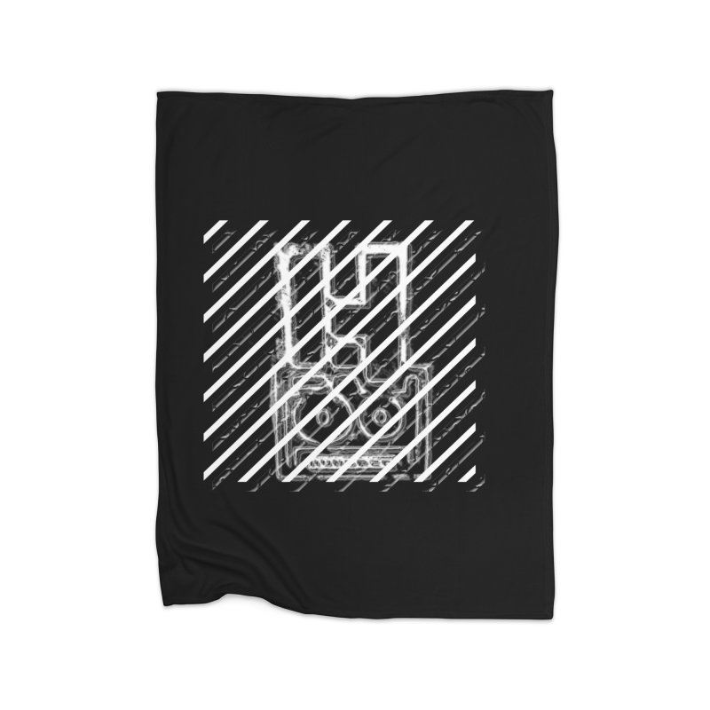Hundred Between The Lines Home Fleece Blanket Blanket by HUNDRED