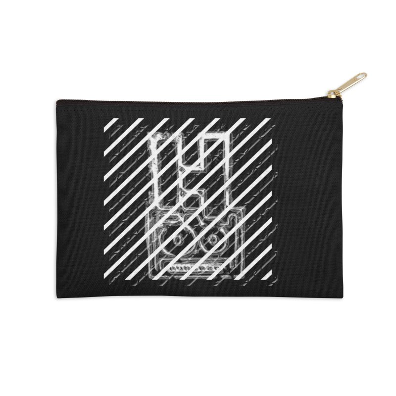 Hundred Between The Lines Accessories Zip Pouch by HUNDRED