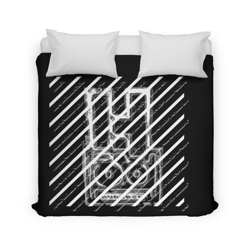 Hundred Between The Lines Home Duvet by HUNDRED