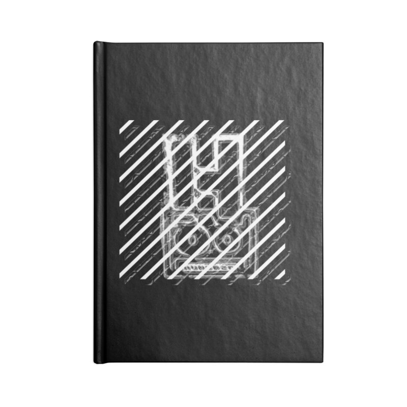 Hundred Between The Lines Accessories Lined Journal Notebook by HUNDRED
