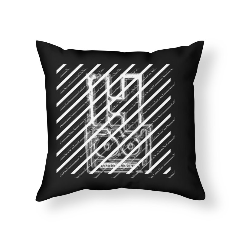 Hundred Between The Lines Home Throw Pillow by HUNDRED