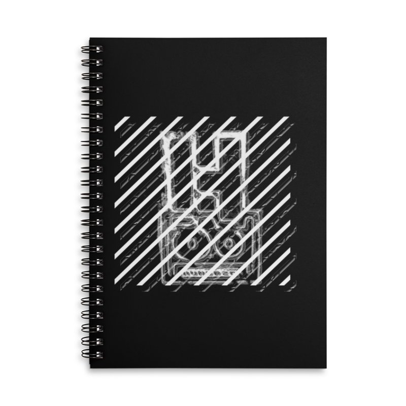 Hundred Between The Lines Accessories Lined Spiral Notebook by HUNDRED