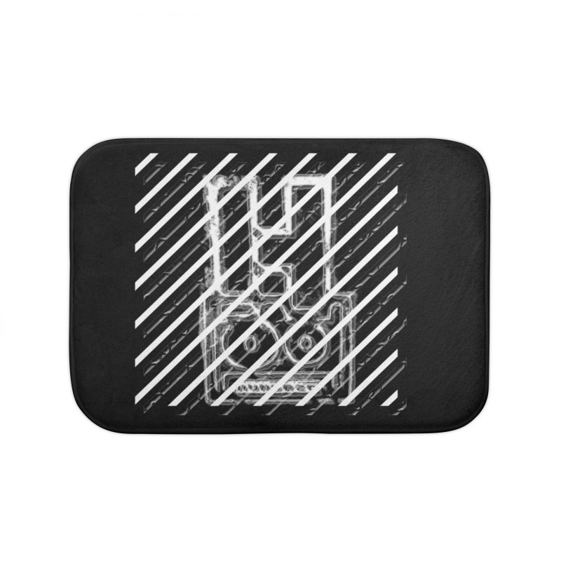 Hundred Between The Lines Home Bath Mat by HUNDRED