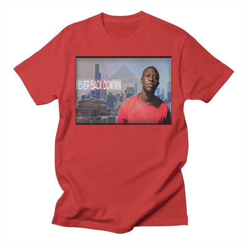 Joe Mighty Never Back Down  Women's Regular Unisex T-Shirt by HUNDRED