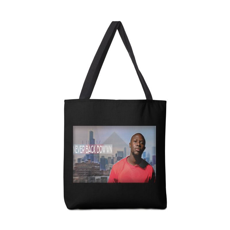 Joe Mighty Never Back Down  Accessories Tote Bag Bag by HUNDRED