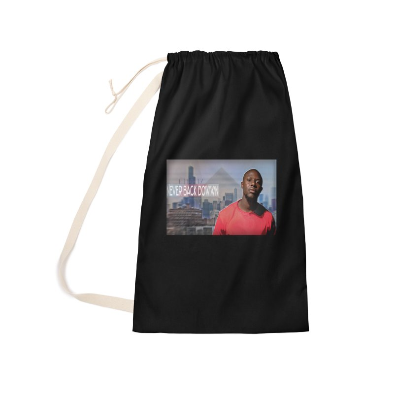 Joe Mighty Never Back Down  Accessories Laundry Bag Bag by HUNDRED
