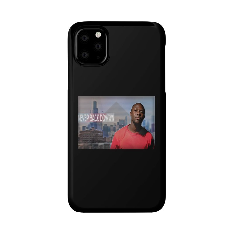 Joe Mighty Never Back Down  Accessories Phone Case by HUNDRED