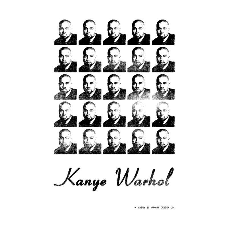Kanye Warhol Men's T-Shirt by Hungry Design Club