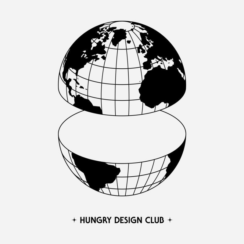 Global Worldwide Men's Longsleeve T-Shirt by Hungry Design Club
