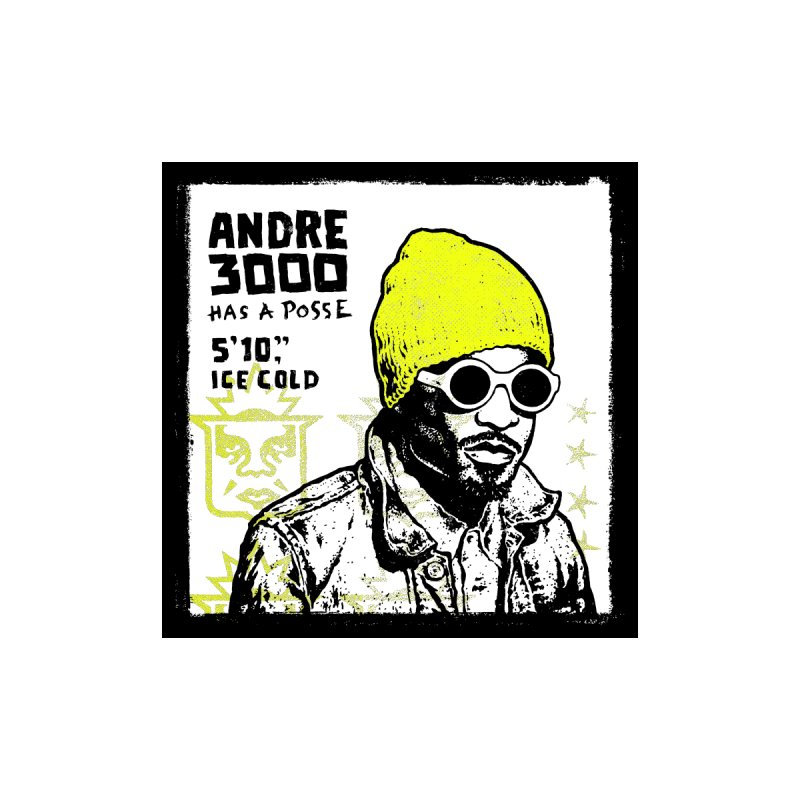 Andre 3000 Has a Posse Men's T-Shirt by Hungry Design Club