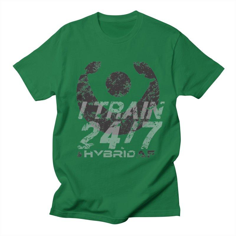 Train Anytime v3 Men's T-Shirt by HybridAF Shop