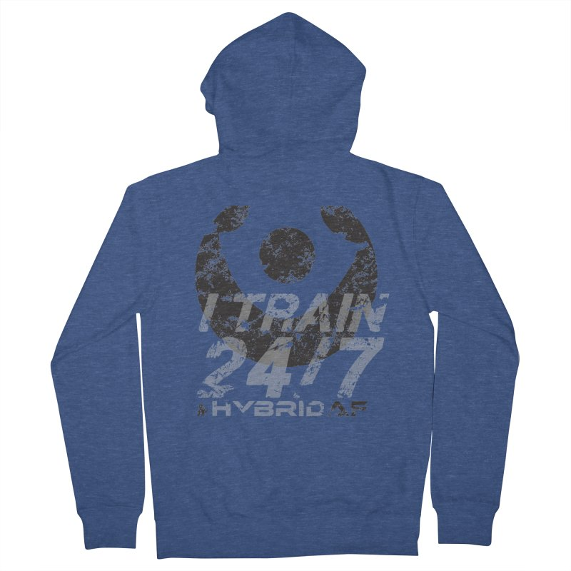 Train Anytime v3 Women's Zip-Up Hoody by HybridAF Shop