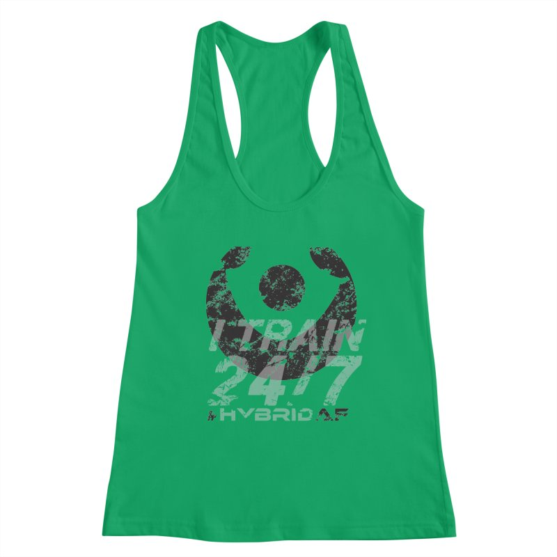 Train Anytime v3 Women's Tank by HybridAF Shop