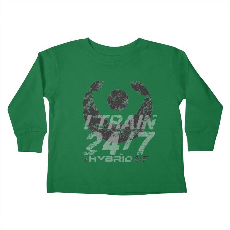 Train Anytime v3 Kids Toddler Longsleeve T-Shirt by HybridAF Shop