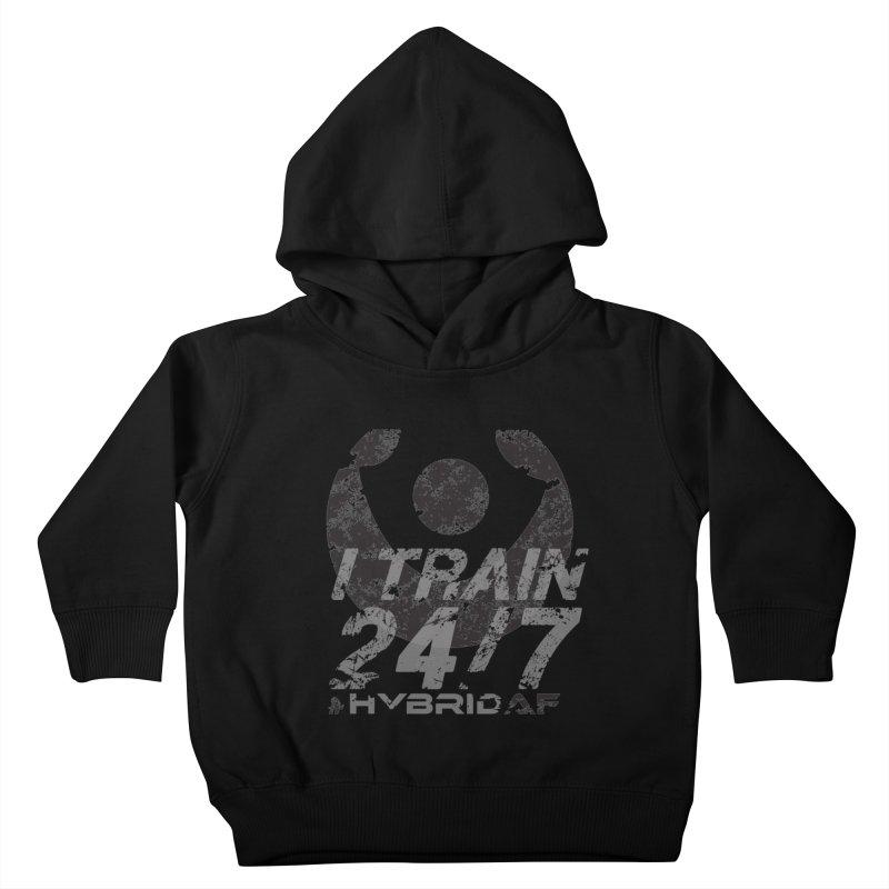 Train Anytime v3 Kids Toddler Pullover Hoody by HybridAF Shop