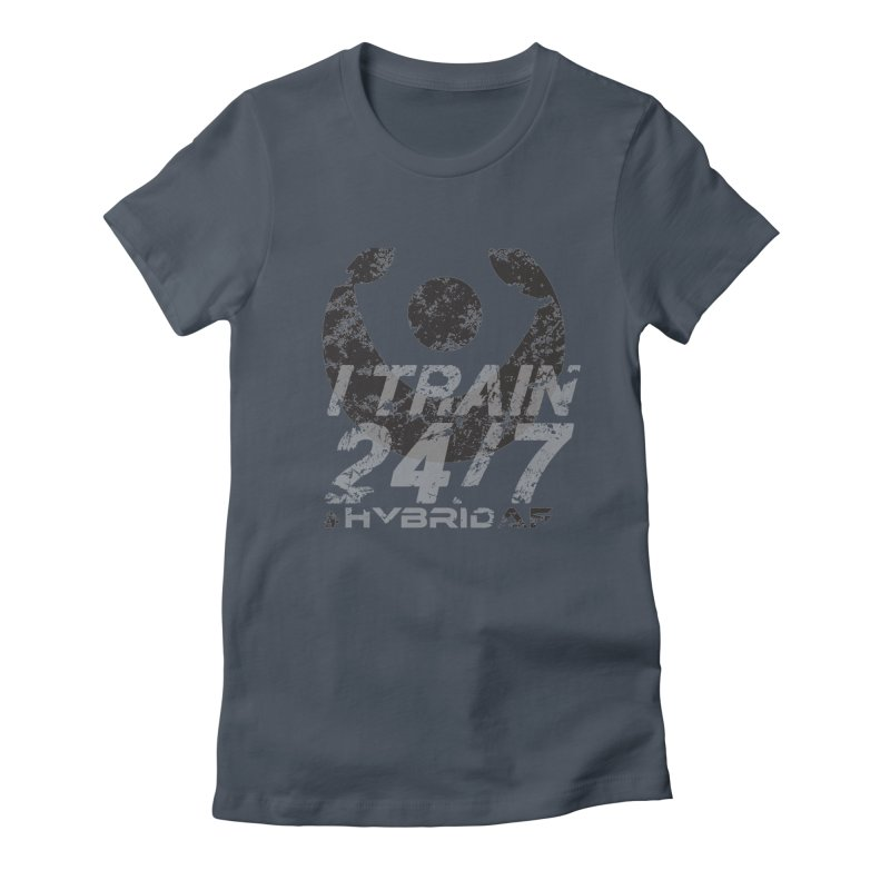Train Anytime v3 Women's T-Shirt by HybridAF Shop