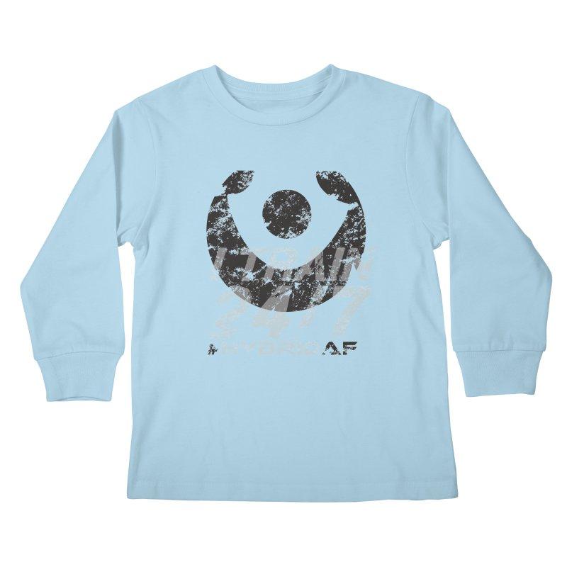 Train Anytime v3 Kids Longsleeve T-Shirt by HybridAF Shop