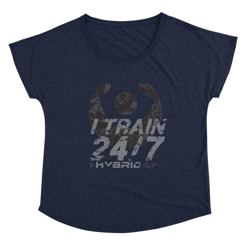 Train Anytime v3 Women's Scoop Neck by HybridAF Shop