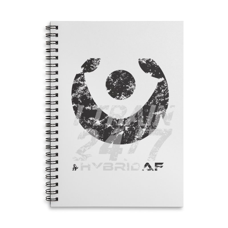 Train Anytime v3 Accessories Notebook by HybridAF Shop