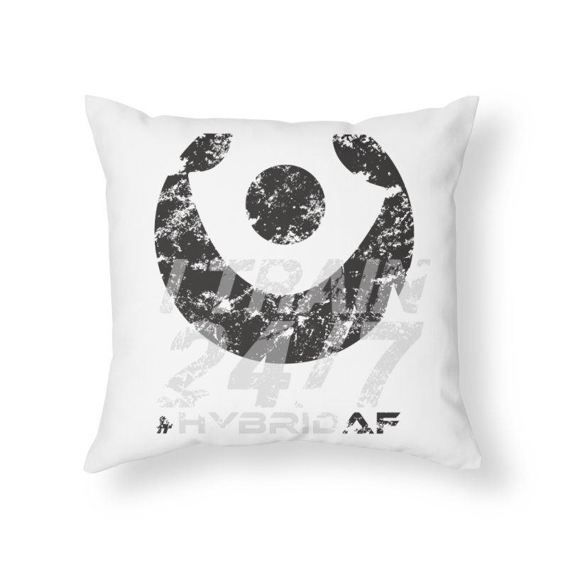 Train Anytime v3 Home Throw Pillow by HybridAF Shop
