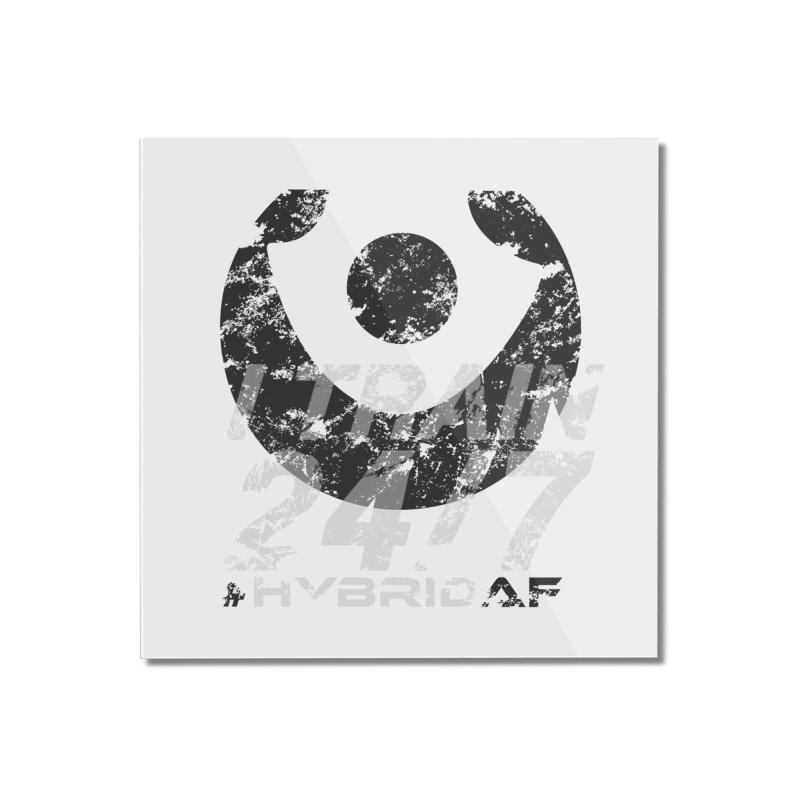 Train Anytime v3 Home Mounted Acrylic Print by HybridAF Shop