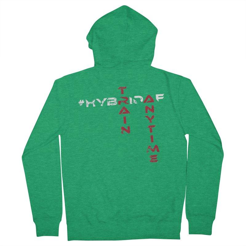 HybridAF v2 Women's Zip-Up Hoody by HybridAF Shop